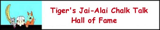 Jai-Alai Chalk Talk Hall of Fame
