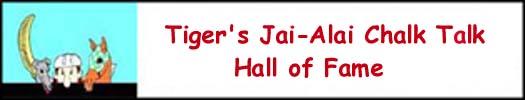 Jai-Alai Chalk Talk Hall of Fame